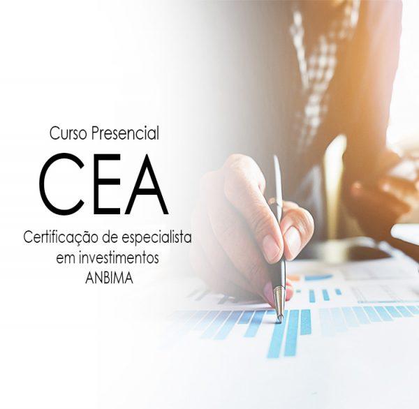 Curso Preparatório para a Certificação CEA ; CEA – Presencial ; cea , certificação cea ;