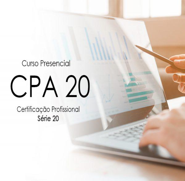 CPA20 ; Curso presencial CPA 20 ; Curso preparatório certificação cpa 20