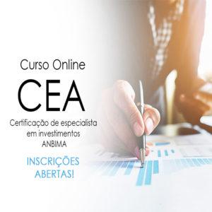 CEA Online , Curso preparatorio certificalão CEA